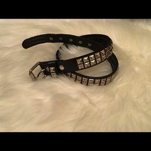 Hot Top Studded Belt | Size 30 | Black